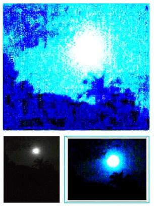 Blue moon december 2009 january 2010 photography by for Blue moon mural